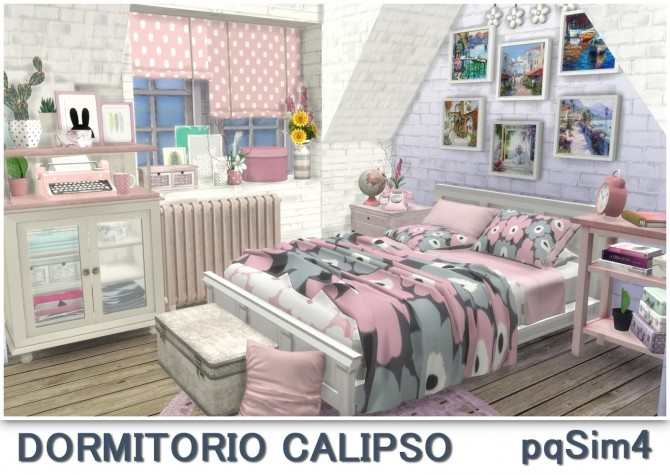 Calipso bedroom at pqSims4 image 1718 670x475 Sims 4 Updates