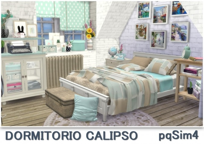 Calipso bedroom at pqSims4 image 1722 670x475 Sims 4 Updates