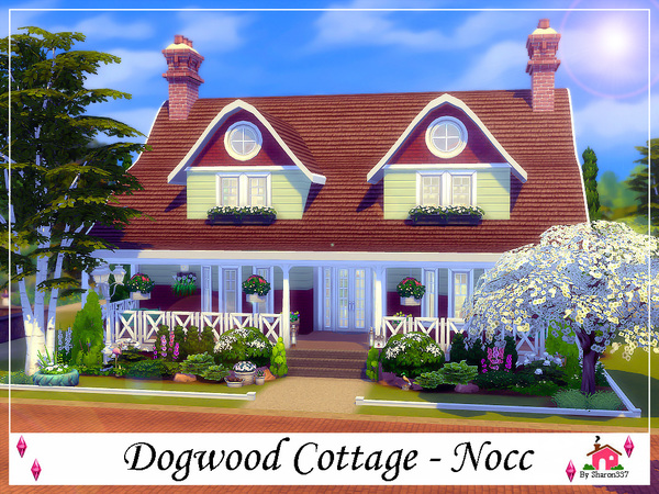 Dogwood Cottage by sharon337 at TSR image 1726 Sims 4 Updates