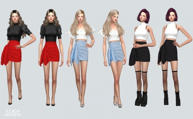 Tied Wrap Skirt at Marigold image 173 670x415 Sims 4 Updates
