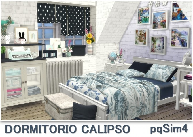 Calipso bedroom at pqSims4 image 1732 670x475 Sims 4 Updates