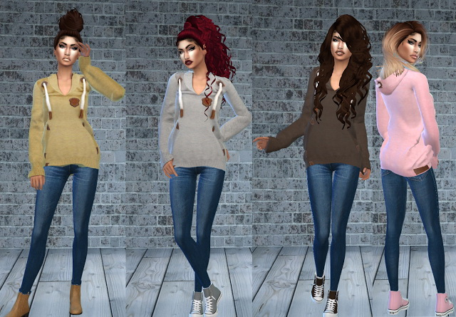 NAKETANO Hoody at Teenageeaglerunner image 1734 Sims 4 Updates