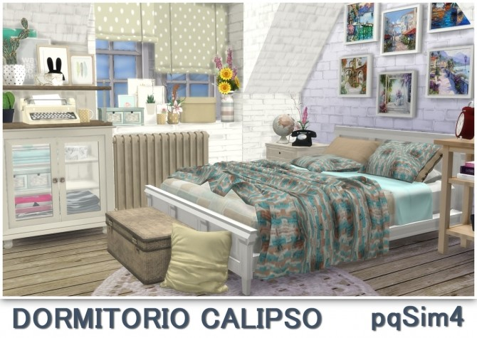 Calipso bedroom at pqSims4 image 1742 670x475 Sims 4 Updates