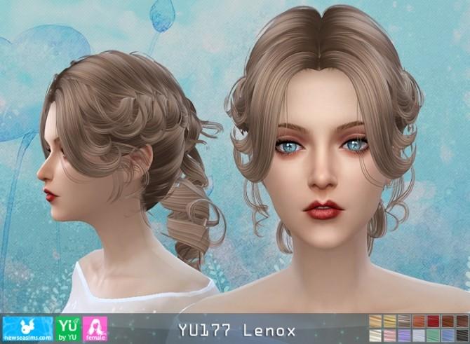 YU177 Lenox hair (P) at Newsea Sims 4 image 1753 670x491 Sims 4 Updates