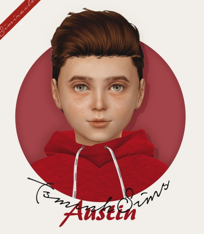TsminhSims Austin Hair Kids & Toddlers at Simiracle image 1774 670x767 Sims 4 Updates