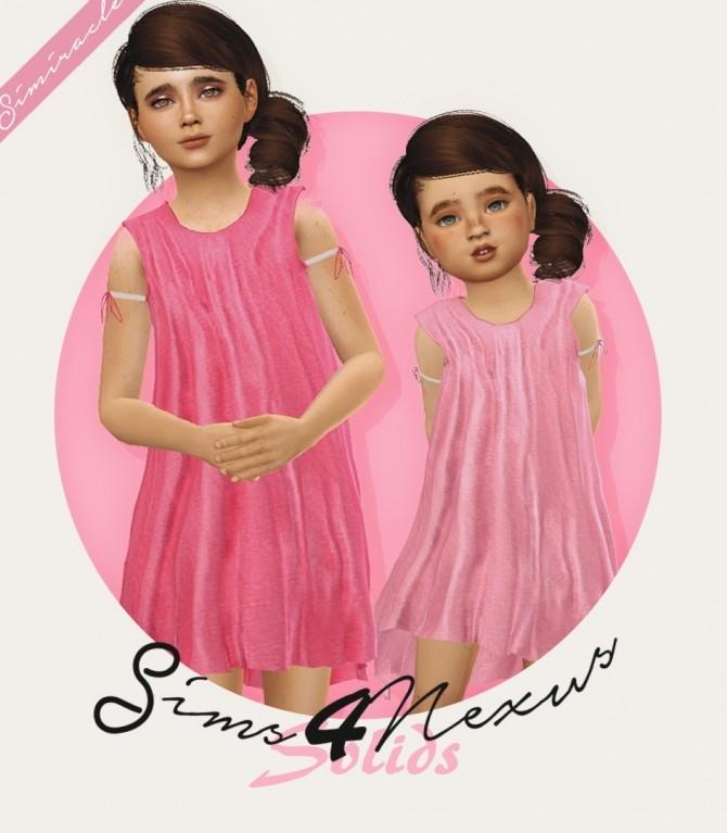 Sims 4 Sims4Nexus Dress Recolor Solids at Simiracle