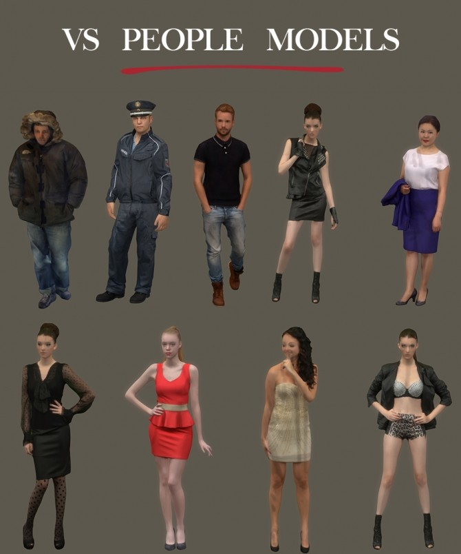 VS People Models at Leo Sims image 1787 670x804 Sims 4 Updates