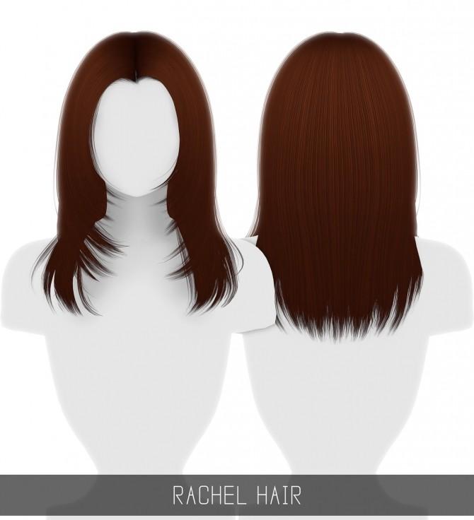 Sims 4 RACHEL HAIR at Simpliciaty