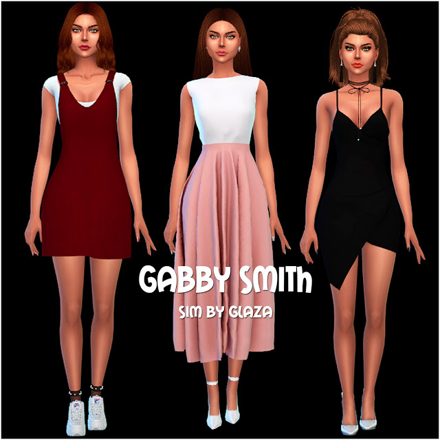 Sims 4 GABBY SMITH at All by Glaza