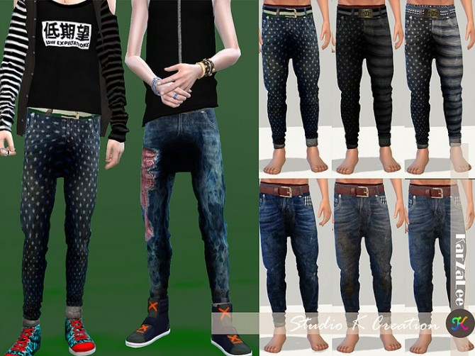 Giruto 48 roll up jeans at Studio K Creation image 18110 670x502 Sims 4 Updates