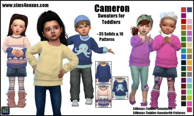 Cameron sweater by SamanthaGump at Sims 4 Nexus image 18113 670x402 Sims 4 Updates