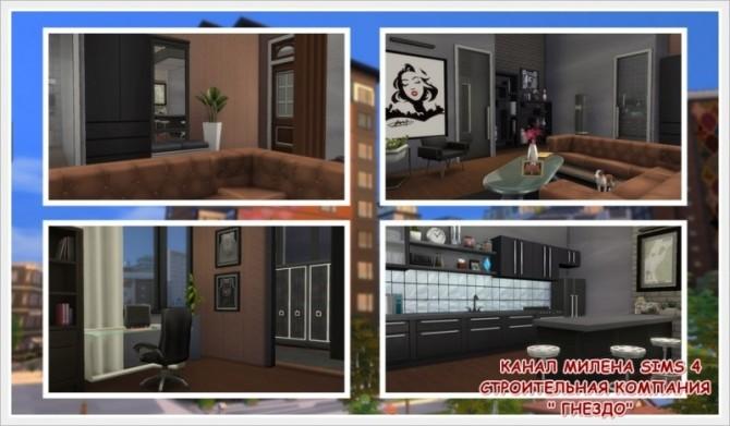 Sims 4 Bach apartment at Sims by Mulena
