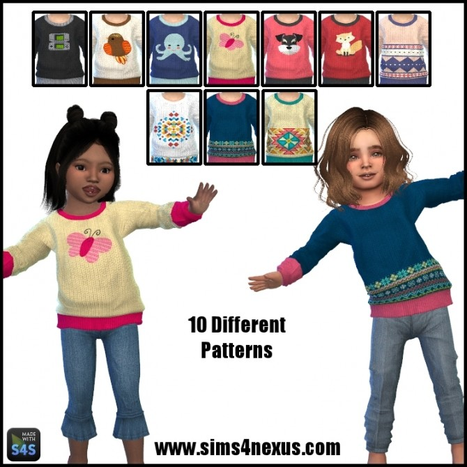 Cameron sweater by SamanthaGump at Sims 4 Nexus image 18210 670x670 Sims 4 Updates