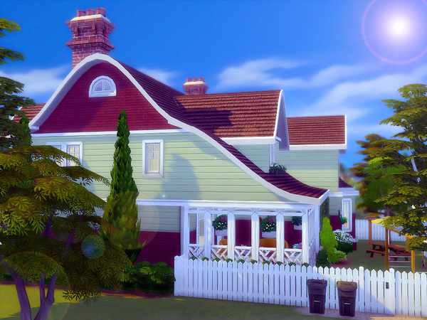 Dogwood Cottage by sharon337 at TSR image 1825 Sims 4 Updates