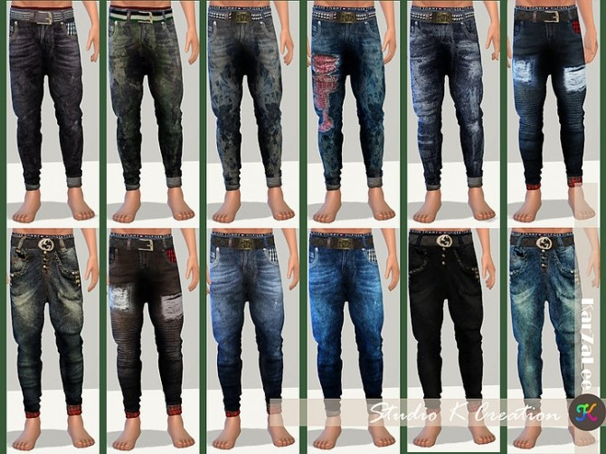 Giruto 48 roll up jeans at Studio K Creation image 1833 670x502 Sims 4 Updates