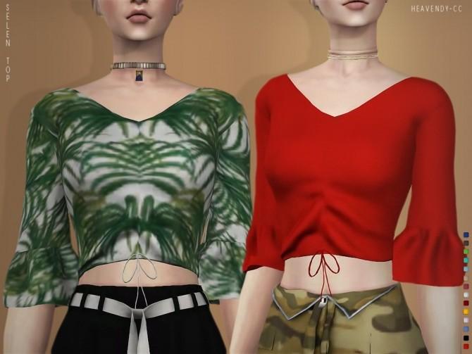 Selen blouse at Heavendy cc image 1834 670x503 Sims 4 Updates