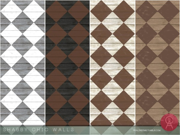 Shabby Chic Walls by Pralinesims at TSR image 1839 Sims 4 Updates