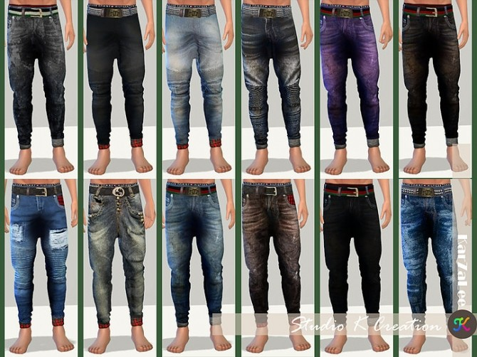 Giruto 48 roll up jeans at Studio K Creation image 1843 670x502 Sims 4 Updates