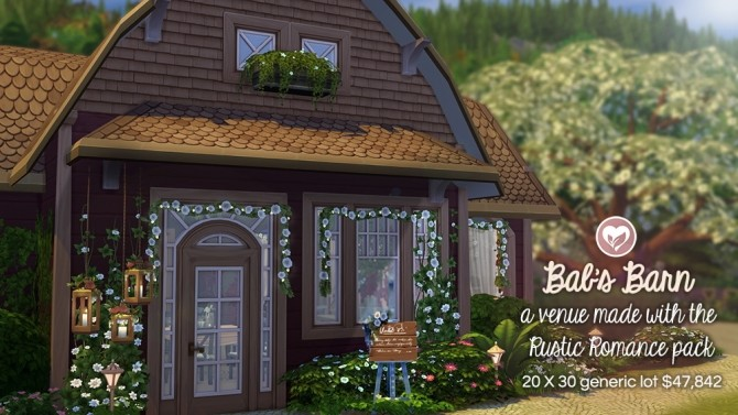 BAB'S BARN RUSTIC ROMANCE STUFF PACK BUILD at The Plumbob Tea Society image 1846 670x377 Sims 4 Updates