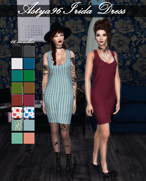 Irida Dress at Astya96 image 1854 Sims 4 Updates