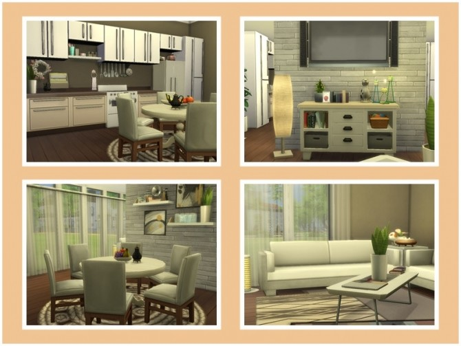 Sims 4 Ray kitchen room at Sims by Mulena