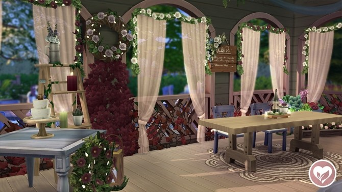 BAB'S BARN RUSTIC ROMANCE STUFF PACK BUILD at The Plumbob Tea Society image 1856 670x377 Sims 4 Updates