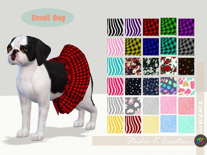 Small Dog dress N2 acc at Studio K Creation image 1862 670x502 Sims 4 Updates