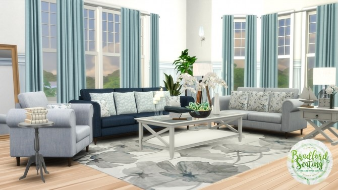 Bradford Seating Rolled Arm Style Sofas at Simsational Designs image 1867 670x377 Sims 4 Updates
