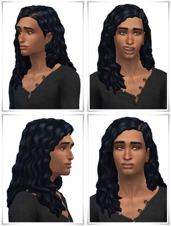 Aaron's LongCurls Hair at Birksches Sims Blog image 188 670x886 Sims 4 Updates