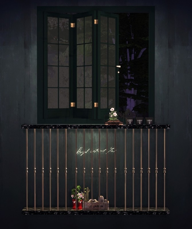 Bifolding French Window & Simple Balcony set at YUMIA'S PLACE image 1893 670x800 Sims 4 Updates