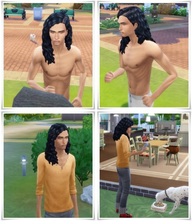 Aaron's LongCurls Hair at Birksches Sims Blog image 190 670x773 Sims 4 Updates