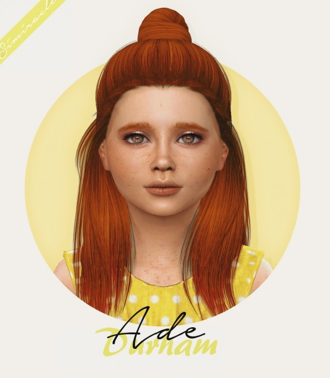 Ade Durham Hair Kids Version at Simiracle image 1906 670x767 Sims 4 Updates
