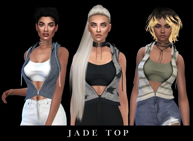 Sims 4 Jade Top Fixed at Leo Sims