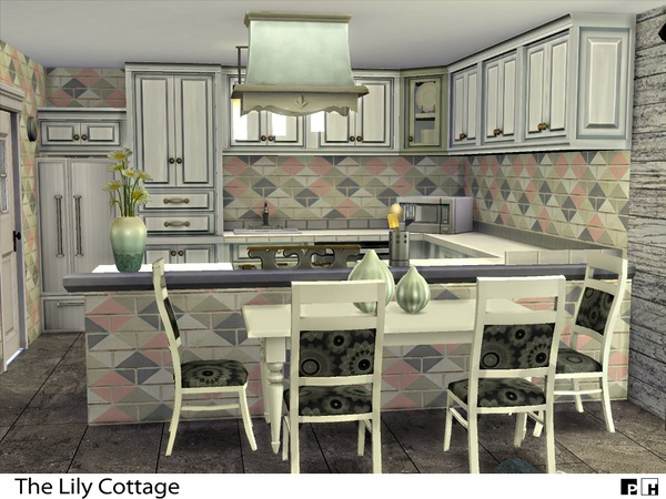 Sims 4 The Lily Cottage by Pinkfizzzzz at TSR