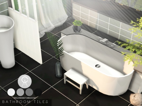 Bathroom Tiles by Pralinesims at TSR image 1919 Sims 4 Updates