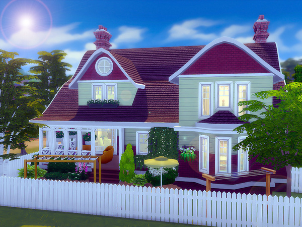 Dogwood Cottage by sharon337 at TSR image 1920 Sims 4 Updates