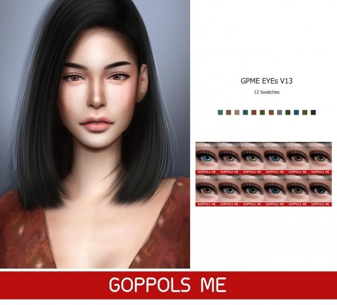 GPME Eyes V13 at GOPPOLS Me image 1941 670x607 Sims 4 Updates