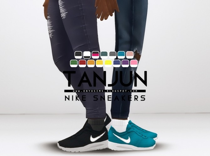 Tanjun Sneakers for Kids at Onyx Sims