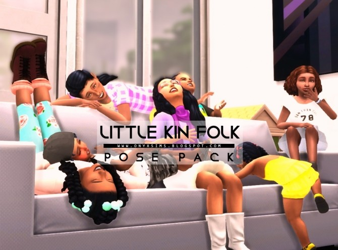 Little Kin Folk Pose Pack at Onyx Sims image 1965 670x497 Sims 4 Updates