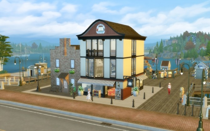 Pier Bookstore at Via Sims image 1966 670x419 Sims 4 Updates