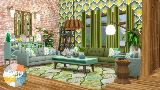 Kinsey Sofa Series MCM Inspired Seating at Simsational Designs image 1972 670x377 Sims 4 Updates