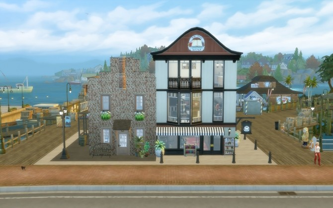 Pier Bookstore at Via Sims image 1976 670x419 Sims 4 Updates