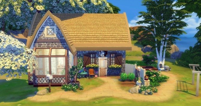 Chaumière starter home at Studio Sims Creation image 1992 670x355 Sims 4 Updates
