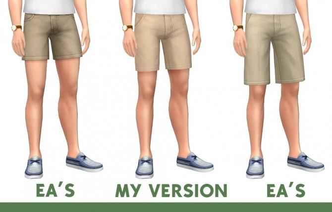 Sims 4 Mid Length Shorts at Marvin Sims