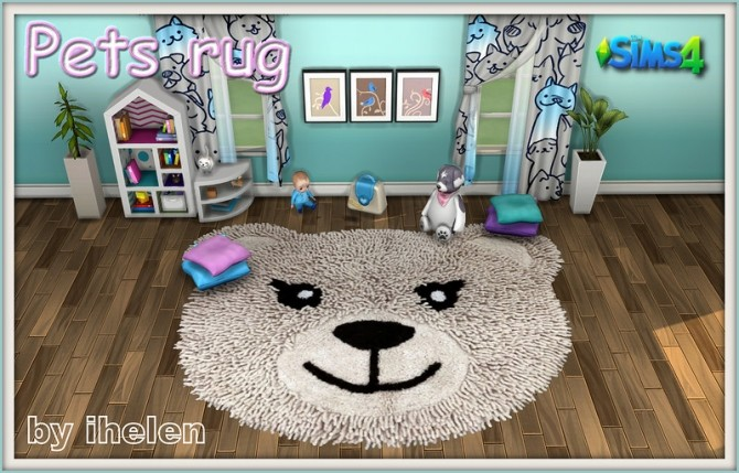 Pets Rug by ihelen at ihelensims image 20211 670x429 Sims 4 Updates
