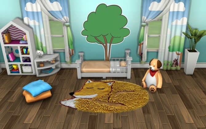 Pets Rug by ihelen at ihelensims image 2037 670x419 Sims 4 Updates