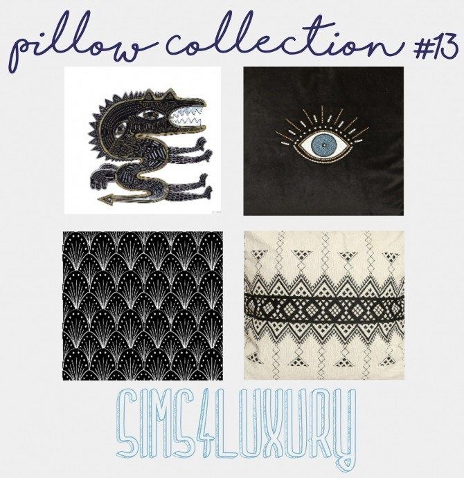 Sims 4 Pillow Collection #13 at Sims4 Luxury