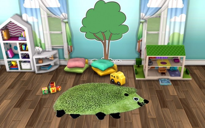 Pets Rug by ihelen at ihelensims image 2055 670x419 Sims 4 Updates