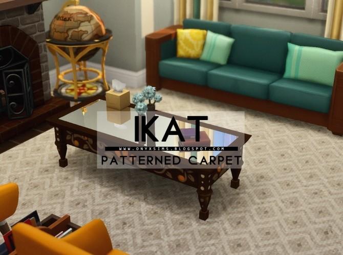 Sims 4 iKat Carpet at Onyx Sims