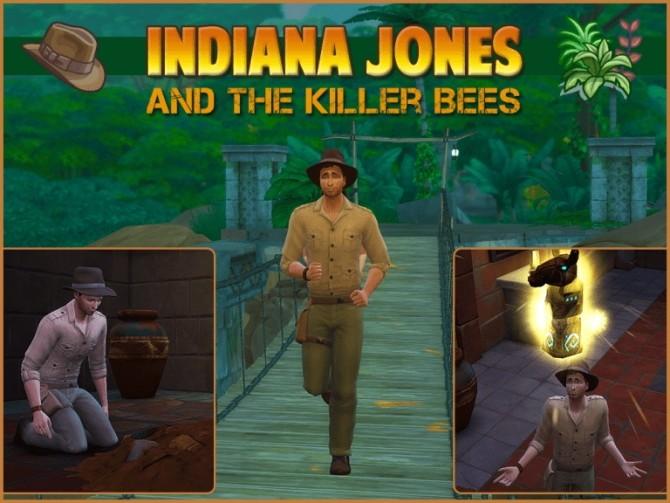 Indiana Jones by Waterwoman at Akisima image 2095 670x503 Sims 4 Updates